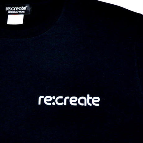 re:create L/S T-SHIRTS (KAMO) BLACK