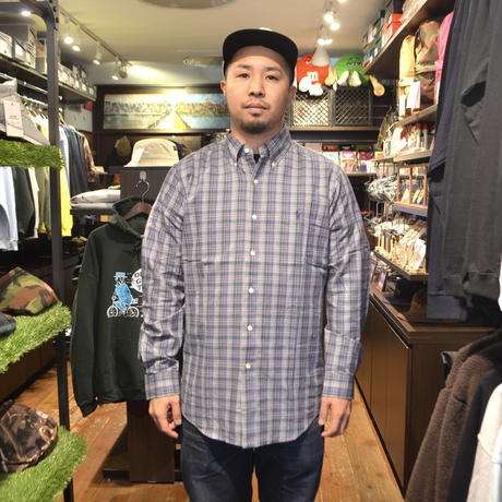 POLO RALPH LAUREN L/S CHECK SHIRTS (CLASSIC FIT) PURPLE