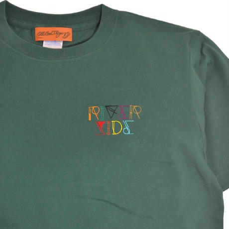 O.G.T S/S T-SHIRTS (RIVER SIDE - NEON) IVY GREEN