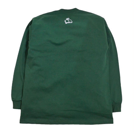 MICHAUX L/S T-SHIRTS (KNOWLEDGE IS POWER) FOREST GREEN