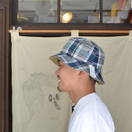 HUF REVERSIBLE BUCKET HAT(CROWN)CAMEL