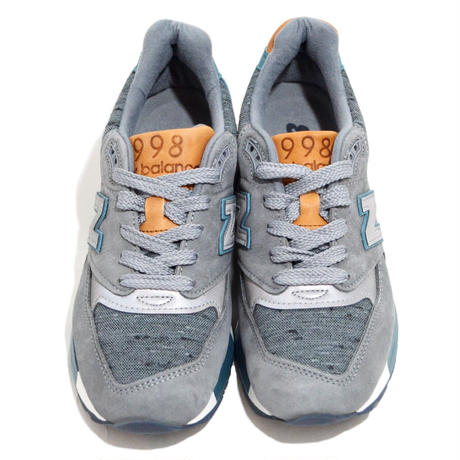 NEW BALANCE (W998 MADE IN USA) GREY/GREEN