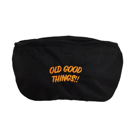 OldGoodThings MINI SHOULDER BAG Ver.02 (O.G.T ORIGINAL) BLACK