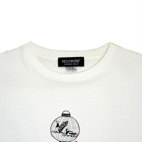 re:create S/S T-SHIRTS (CHOUCHIN) WHITE