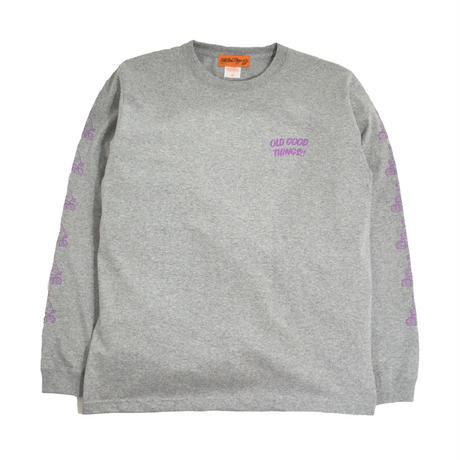 OldGoodThings L/S T-SHIRTS (NEVER 2019) GREY