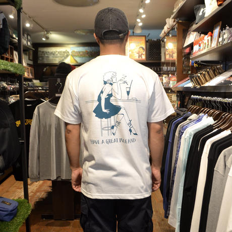 OldGoodThings S/S T-SHIRTS (WEEKEND) WHITE