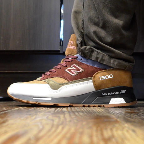 NEW BALANCE (M1500 MADE IN ENGLAND) BUG/WHITE