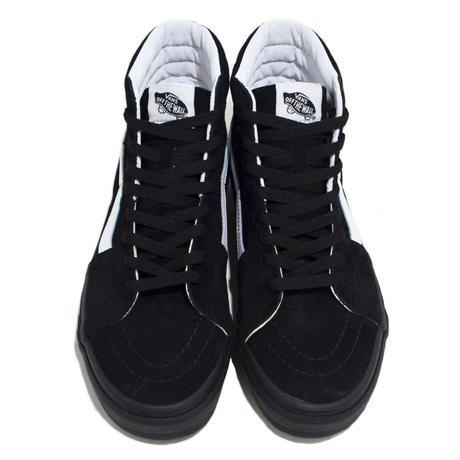 VANS (SK8-HI) SUEDE BLACK/BLACK