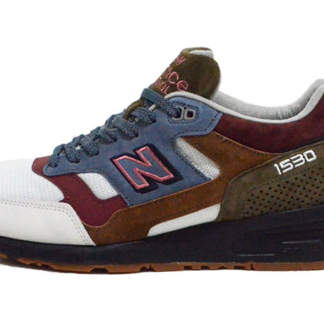 NEW BALANCE (M1530 MADE IN ENGLAND) WHITE/BURGUNDY