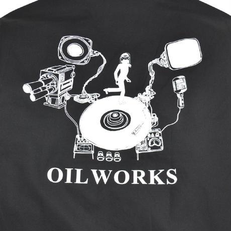 OILWORKS L/S SHIRTS (OIL-2020) BLACK