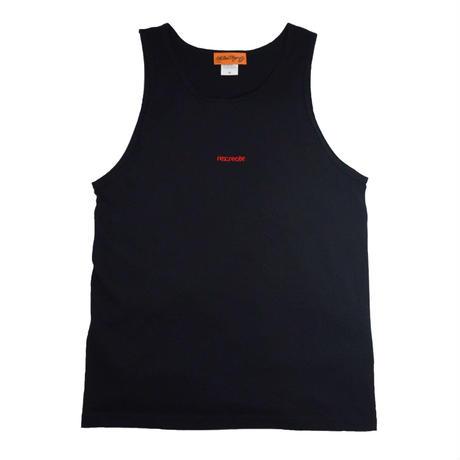 re:create ORIGINAL (ORIGINAL TANK TOP) BLACK
