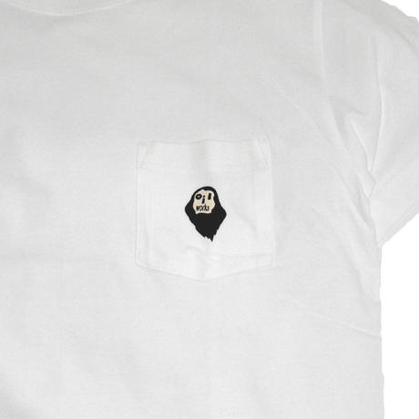 OILWORKS S/S POCKET T-SHIRTS (OILMARK) WHITE