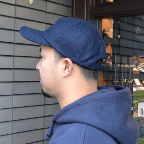 O.G.T 6PANEL WOOL CAP (LINK) NAVY