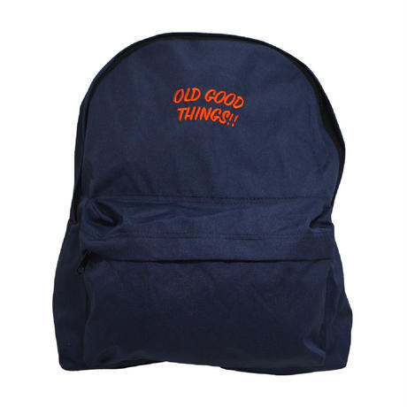 OldGoodThings HOLIDAY BAG (O.G.T ORIGINAL) NAVY