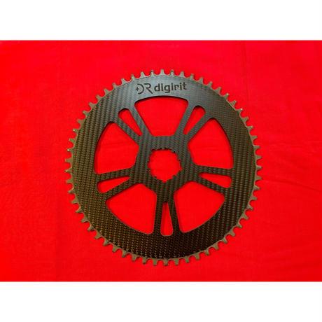 digirit Carbon Chainring 58T【ee Wings】standard(3K)