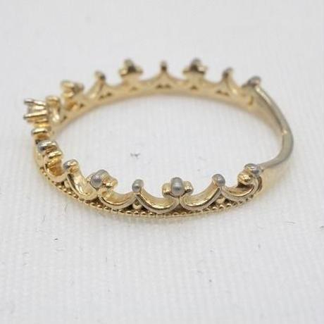 【EC-33】ティアラデザイン リング 指輪