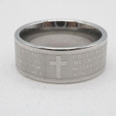 【EC-21】クロスモチーフ 十字架 リング 指輪