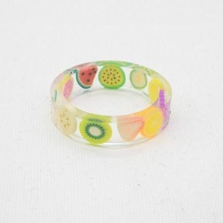 【EC-36】フルーツモチーフ リング 指輪
