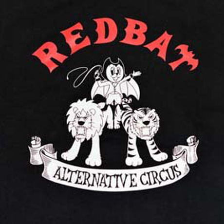 "RED BAT ""ALTERNATIVE CIRCUS"" 厚手ジップパーカー"