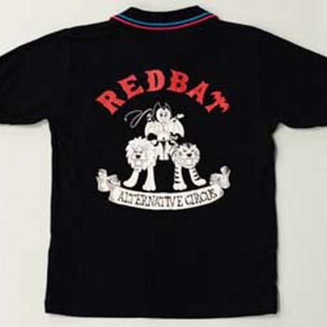 "RED BAT ""ALTERNATIVE CIRCUS"" ラインポロシャツ(ポケット付)"