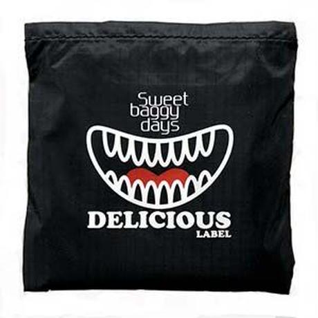 デリシャスレーベルロゴ 折り畳みバッグ