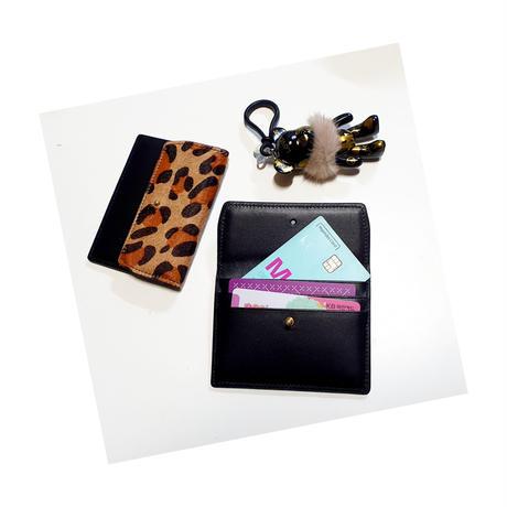 鹿の子アニマル柄カードケース