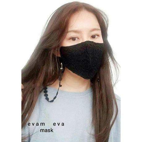 フラワーレースマスク (hand made)