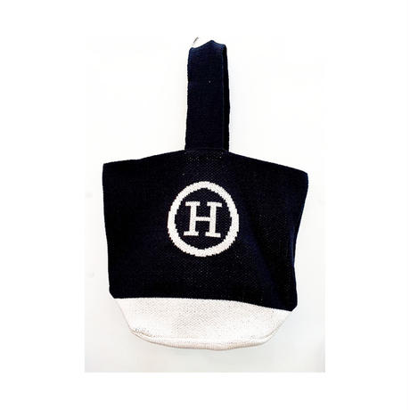 Hニットワンハンドルバッグ