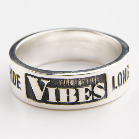 VIBES SILVER RING HEAVY