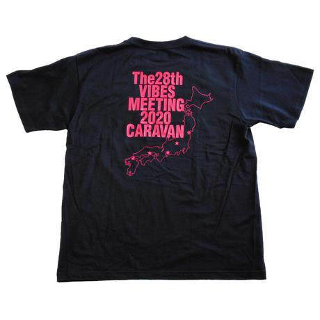 THE 28th VIBES MEETING 2020 CARAVAN 記念 Tシャツ(限定販売)