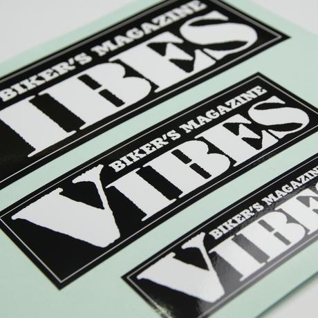 VIBESステッカー(黒)