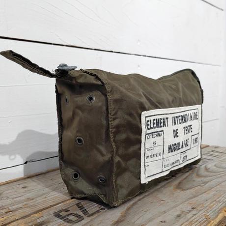 ドイツ軍usedエチケットポーチ オリジナルタグ