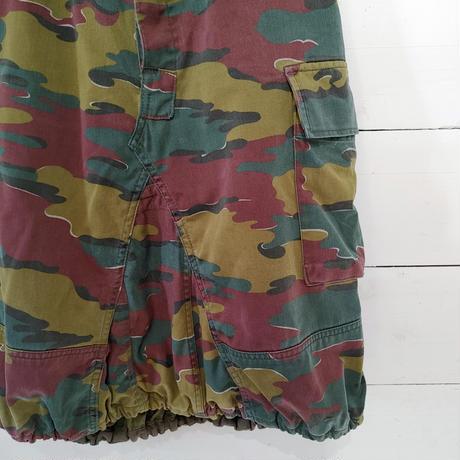 ベルギーカモフラのバルーンスカート