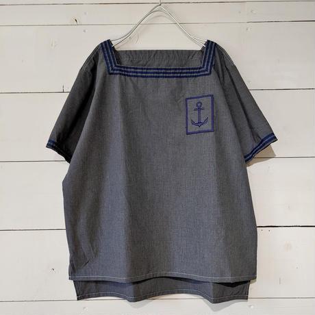 フランス海軍 ミリタリーセーラーTシャツ