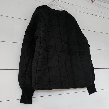 チェコ軍M60ライナージャケット 黒染め 丸襟