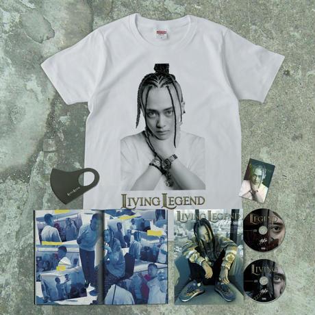 【数量限定】LIVING LEGEND Complete Box(コンプリート・ボックス)[T-shirt+フォトブック+2枚組CD+マスク+ステッカー]