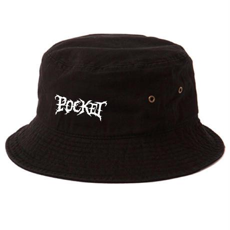 POCKET Bucket hat BLACK
