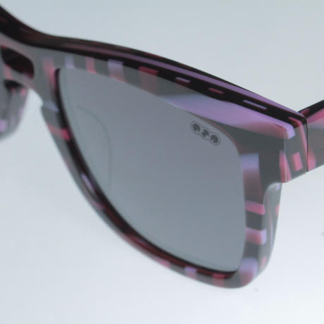 kush 80's pattern series/pink/mirror