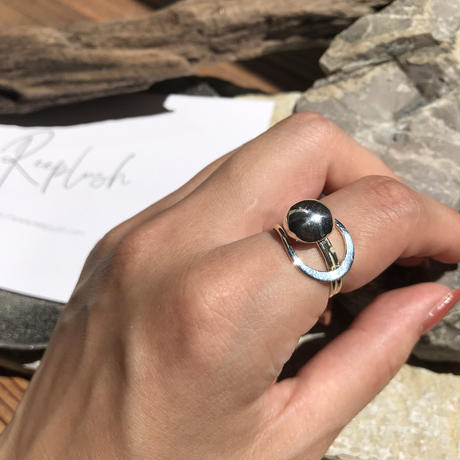 silver925 Galaxy Ring/size:M〈StyleNo.010724-52〉