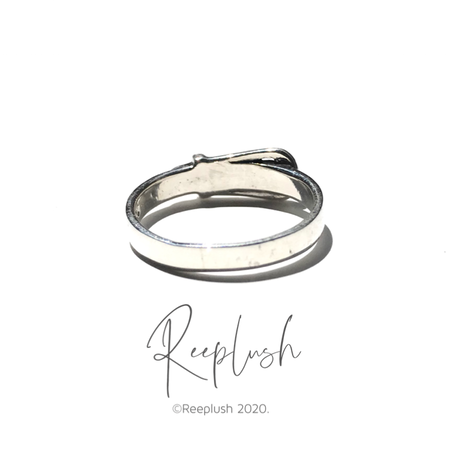 【ラスト1点/14号】silver925 Lil Belt Ring