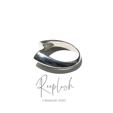 silver925 Heart Ring/size:#10-13