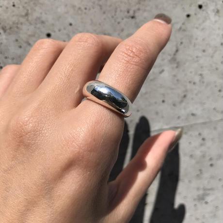 【13号ラスト1点】silver925 Plump Open Ring /size:#13