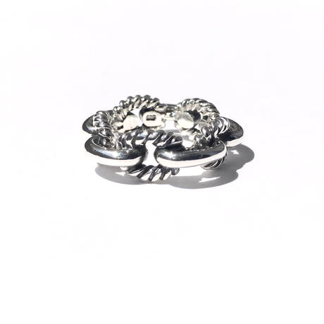 silver925 Chain Ring/size:M,L〈Style.No 020402-25〉