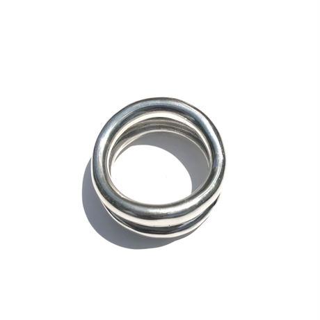 silver925 Urban Ring/size:#11.5-16.5