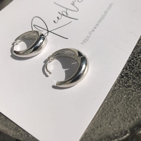 【再入荷】silver925 Mom pierce <Style No.011202-62-re>