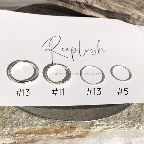 silver925  4Set Rings〈No.011016-setrings10 〉