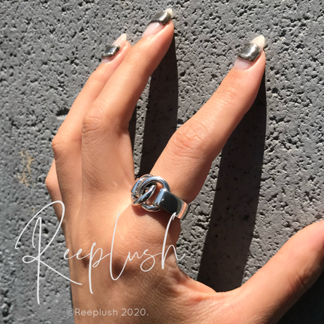 silver925 Vogue Ring/size:#13,15