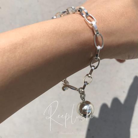 【ラスト1点】silver925 Drop Ball Bracelet