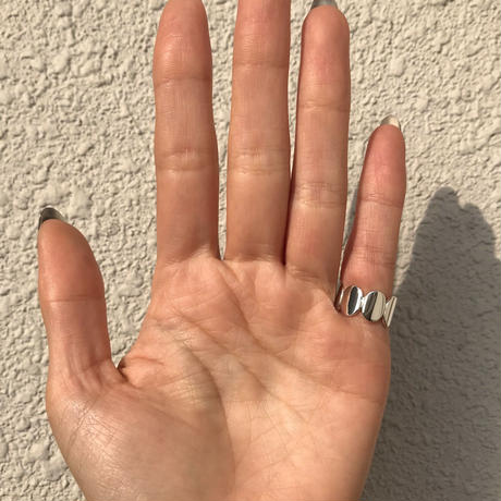 silver925 Belle Pinky ring/size:#2,#4