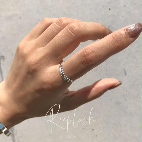 silver925 Megan Ring/size:M〈Style.No.020813-30〉